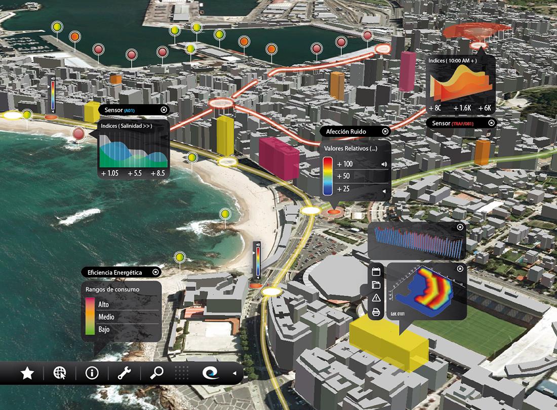 Smart Coruña, real IOT project.