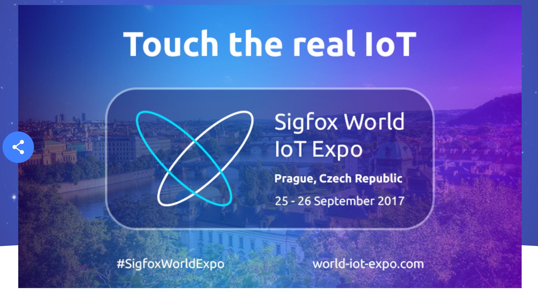 #Sigfox World IoT Expo: ¡@Sigfox lanzará nuevos servicios para consolidar la revolución IoT!