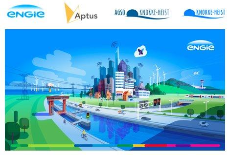 El municipio de Knokke-Heist en Bélgica, junto a @ENGIEm2m y @WeAreAptus, integró más de 60 sensores IoT con la tecnología @Sigfox
