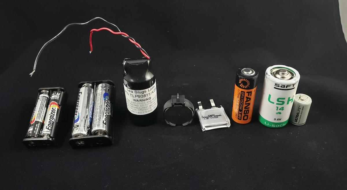 @SeaSlugLabs presenta un estupendo análisis de las baterías que necesitas para tu proyecto IoT @Sigfox
