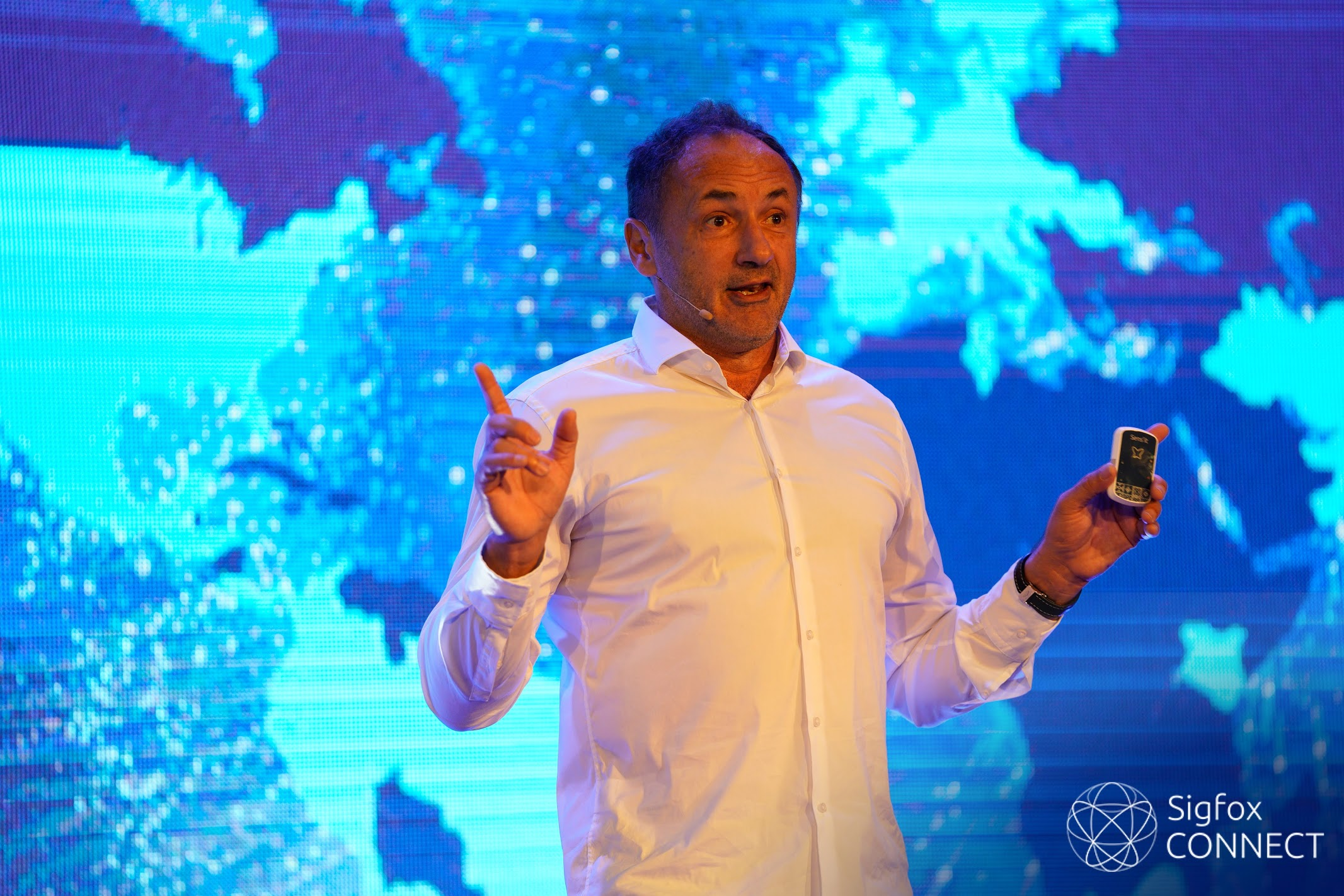 """Ludovic LeMoan on the #SigfoxConnect in Singapore: """"Join the #0G revolution"""""""