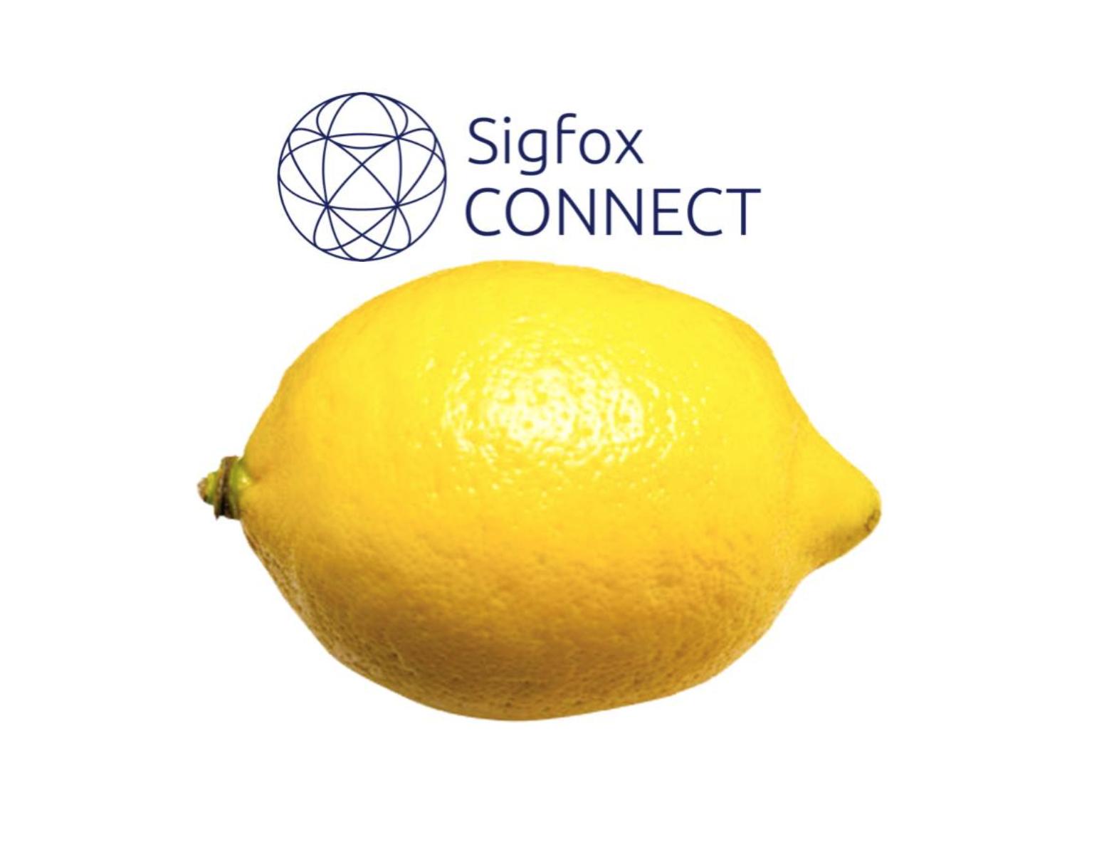 ¡Sólo un limón para la transmisión de datos!