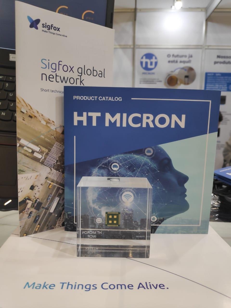 HT Micron lança o primeiro chip nacional para Internet das Coisas protocolado via @Sigfox durante evento em São Paulo