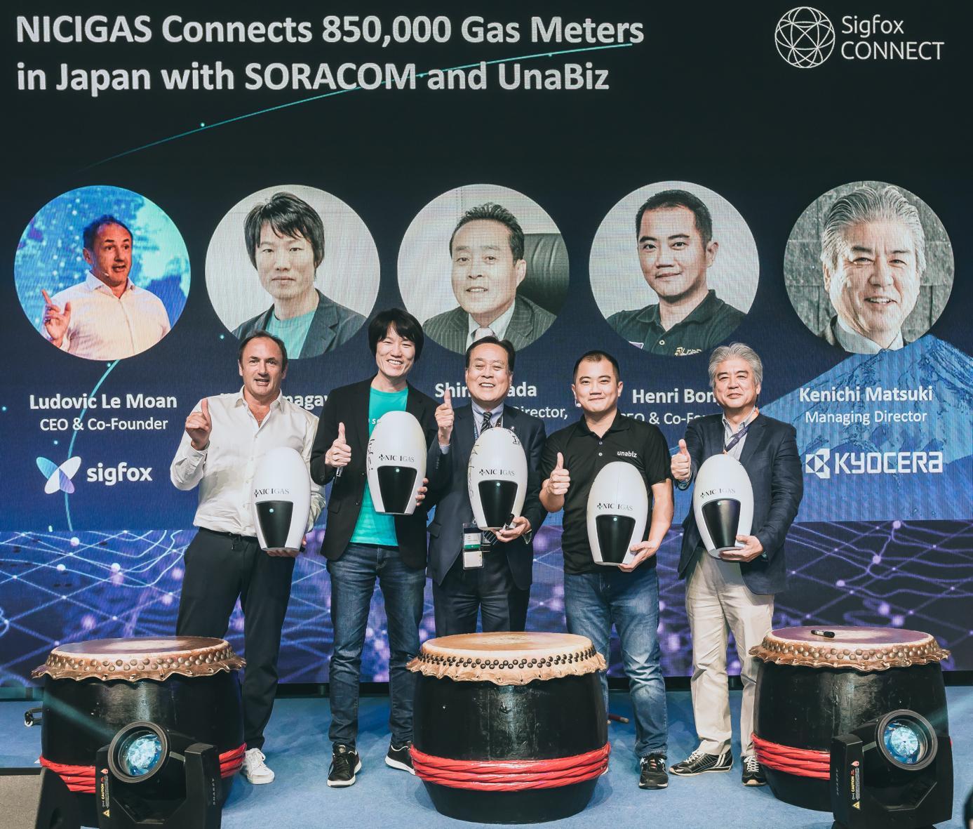 @Sigfox: #NICIGAS conecta 850,000 medidores de gas en Japón con #Soracom y #UnaBiz