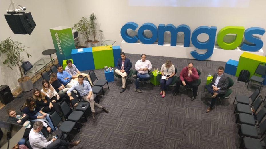 @Sigfox: Evento Talks Comgás conta com a participação de Fabiano Costa, Gerente Comercial da WND Brasil, que faz apresentação sobre a tecnologia de comunicação para IoT