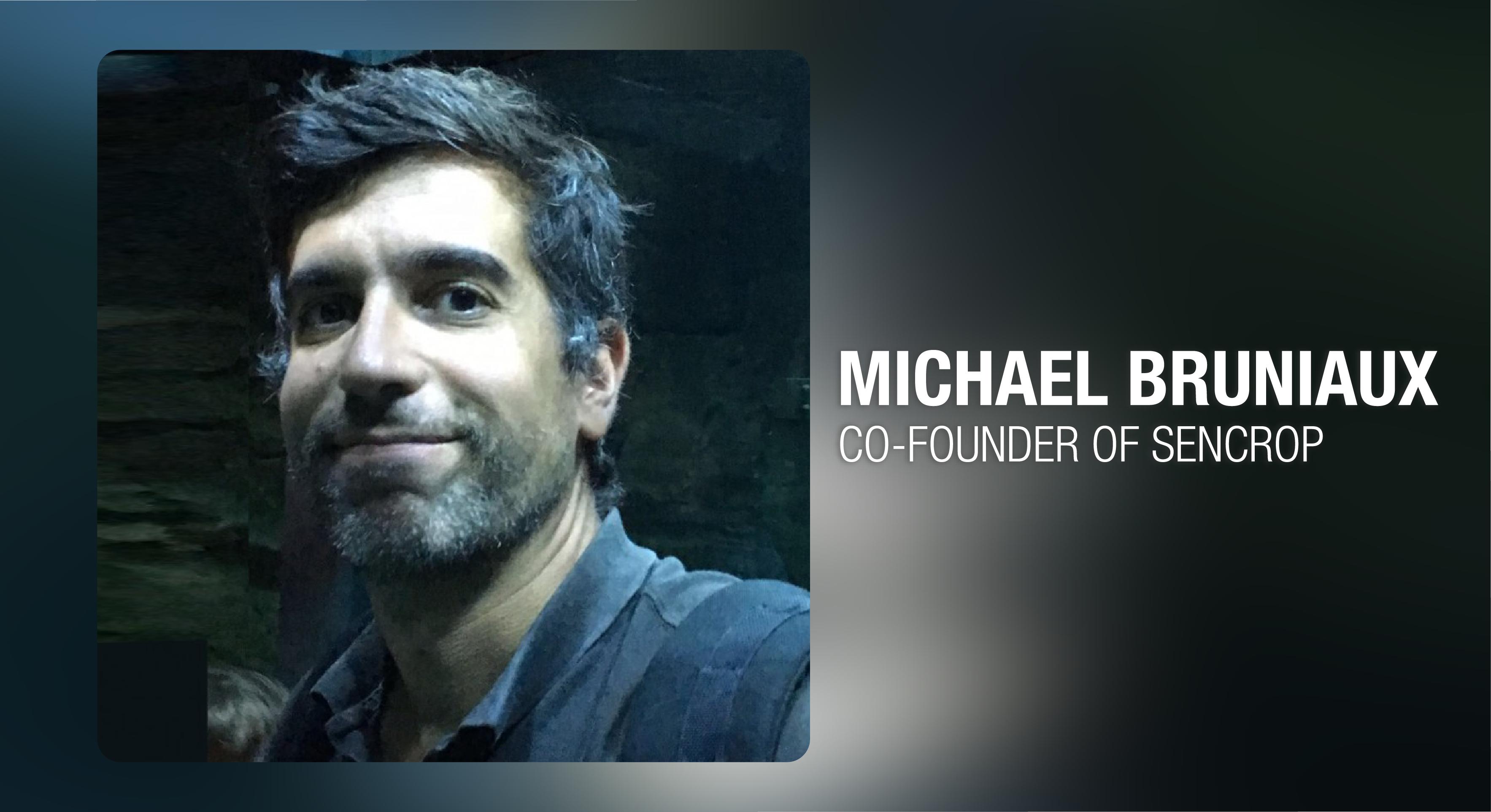 #EntrepeneurPortrait de Sigfox IoT presenta a Michael Bruniaux, Cofundador de Sencrop