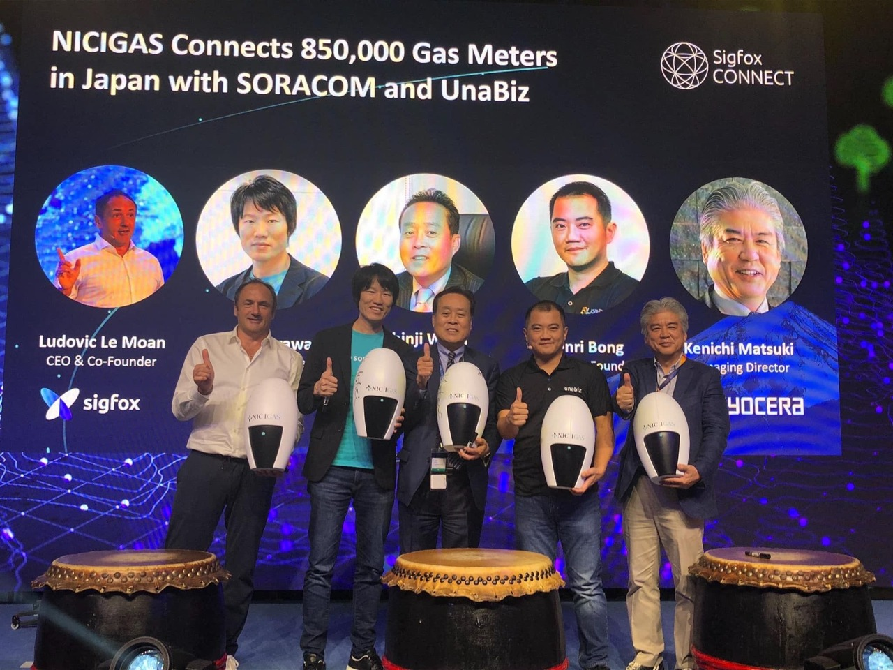 Projeto de 850.000 medidores de gás com Sigfox no Japão é uma das maiores implantações de soluções IoT no mundo