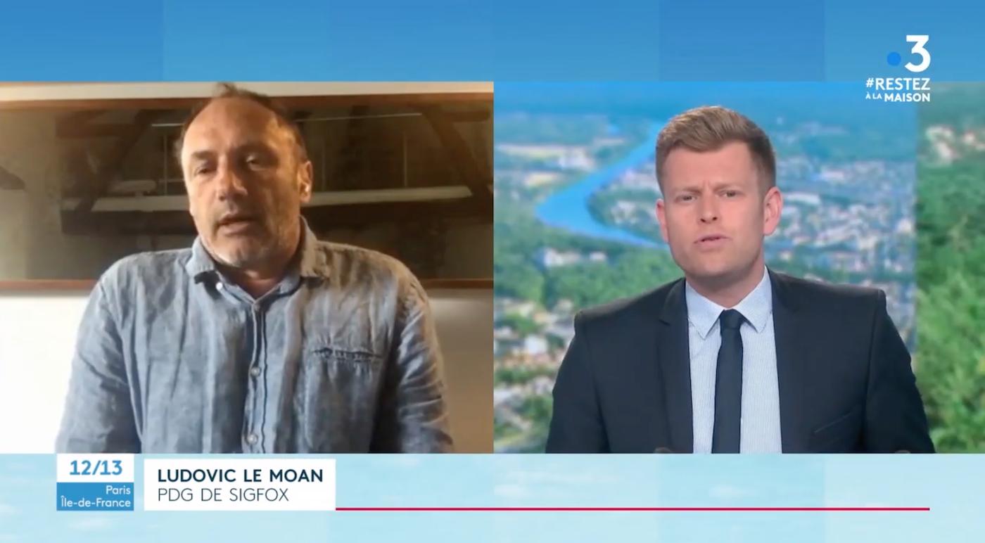 Ludovic Le Moan propone un brazalete conectado Sigfox/Vitalbase como complemento a la aplicación Stop Covid durante el desconfinamiento en Francia