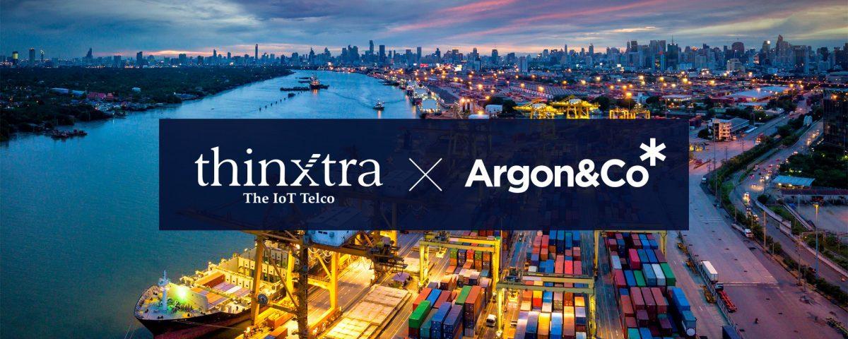 Argon & Co y Thinxtra se asocian para transformar las cadenas de suministro y lograr una mayor resiliencia y eficiencia a través de soluciones IoT