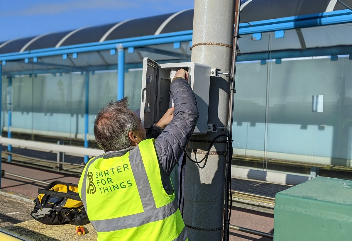 Air pollution: How B4T have revolutionised the way we reduce air pollution in UK Ports using #0G connected devices.