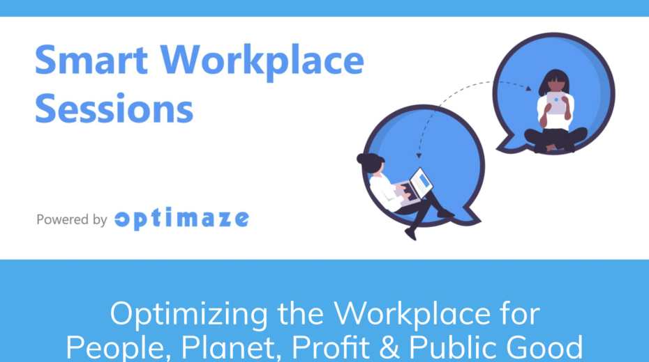 """#Rapal y #Sigfox presentan la primera temporada de los seminarios web Smart Workplace Sessions: """"Optimización del lugar de trabajo para las personas, el planeta, las ganancias y el bien público"""""""