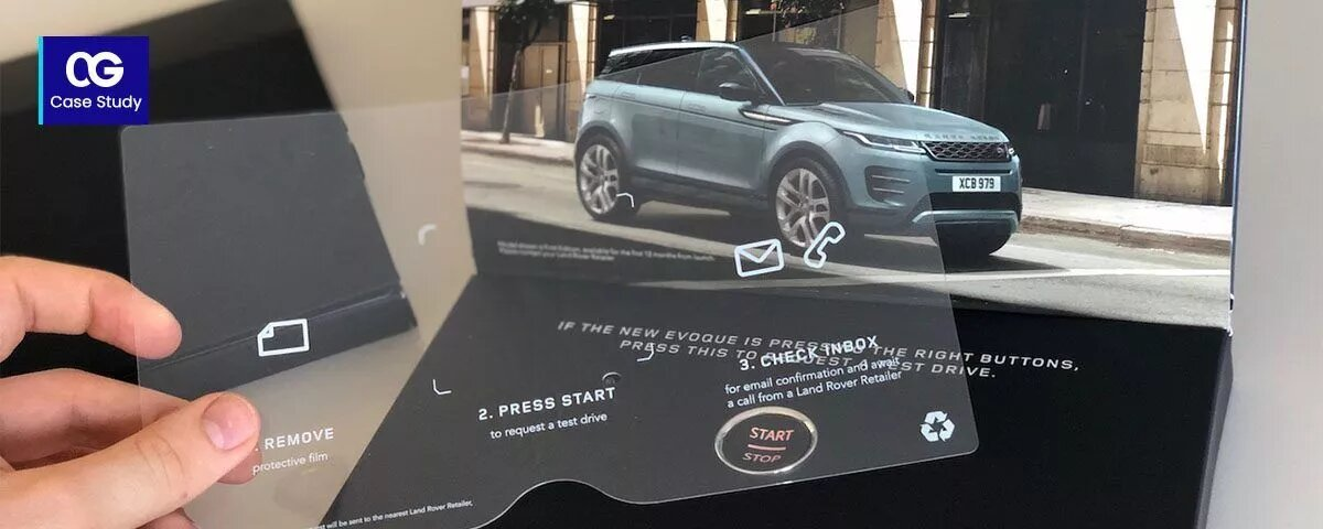 Land Rover atinge 48% de taxa de resposta com a campanha de marketing digital direto da Ebi