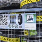 protección electrónica antirrobo de Wanzl
